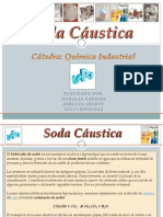 Soda Cáustica