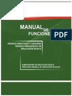 Manual de Funciones Director, Supervisor y Jefe de Sector