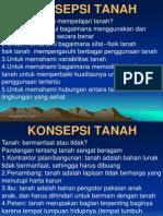 1. KONSEPSI TANAH