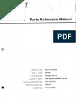 Mp Crusher Mp800 Sh Hd Serie Mp800114-115 ( Minera Maricunga )