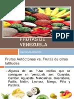 Frutas de Venezuela