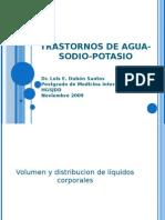 trastornos de agua-sodio-potasio