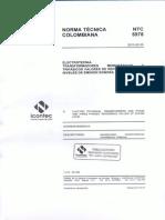 Ntc5978 Transformadores Monofasicos y Trifasicos Valoresc de Referencia de Los Niveles de Emision Sonora