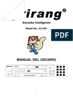 Manual Karaoke