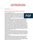 Os Feriados de Origem Pagã e Como Foram Adotados No Mundo Ocidental