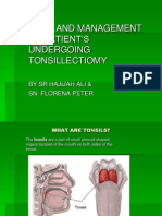 Case Study Tonsillectomy
