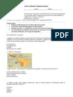 Prueba CF2 5básico Civilaciones Precolombinas