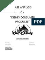 Disneycase Analysis