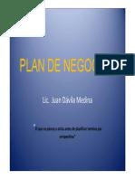 Elaboracion de Plan de Negocios Juan Davila