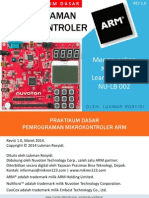 Tutorial Praktikum Learning Board ARM