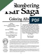 The Slumbering Tsar Coloring Book