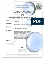 INFORME N°1 DE ING. MECANICA - PRESION