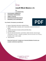 Microsoft Word Básico ( I)