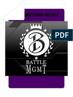 Marketing Plan —— Astro & Battle MGMT