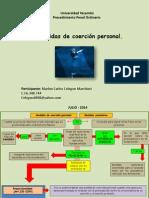 Medidas de Cohersión Personal.