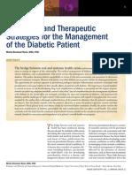 Profed Art Diagnostic Therapeutic Strategies Manage of Diab Patient