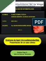 Artículo ( Síndrome de Apert - Medicina II )