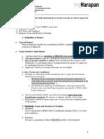 Standard Proposal Guideline