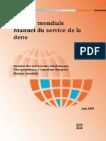 Banque Mondiale - Manuel Du Service de La Dette