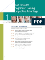 Chapter 1 HRM-Gaining a Competitive Advantage