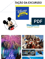 Apresentação da Excursão Disney de Ouro - JANEIRO 2015