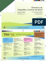 Directorio de Hospitales y Centros de Salud