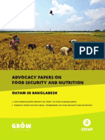 Advocacy Papers on Food Security and Nutrition