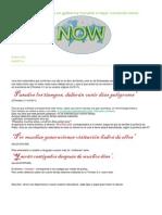 Confirmación Bíblica Del NOW by DLE