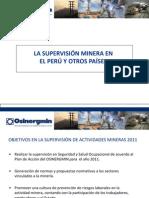 Cda - La Supervisión Minera en El Perú y Otros Países