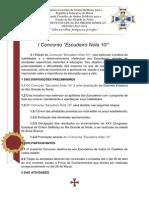 Edital 004 - Escudeiro Nota 10