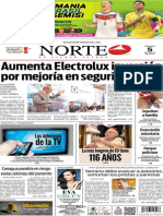 Periódico Norte edición del día 5 de julio de 2014