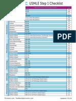Study Checklist 2013 Revised