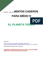Experimentos Caseros Para Niños IV-planeta Tierra