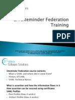 CA Siteminder Federation Training