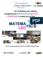 Proyecto Significativo Matemalectis Ie Policarpa Salavarrieta