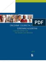 Colorectal Screening Algorithm