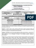 Formato de Aplicacion-sistematización de Experiencias Edward Morales