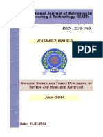 IJAET Volume 7 Issue 3 July 2014
