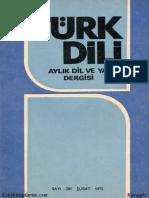 Turk Dili Dergisi Sayi 281 - 02.1975