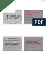 5. Sectors of Economy