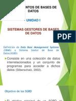 Unidad 1 Fundamentos de Bases de Datos