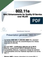 Présentation 802.11e v1.0