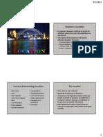 8. Location & Economies of Scale