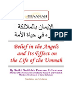 belief in  the angels