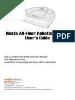 Neato Vacuum User Guide