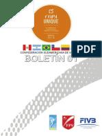 Boletin 01 Copa Unique 2014