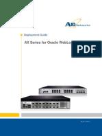 A10 DG Oracle WebLogic