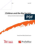Children and the Big Society