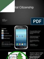 digital citizenship presentation
