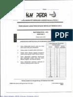 Matematik Kertas 2 Percubaan UPSR Pulau Pinang